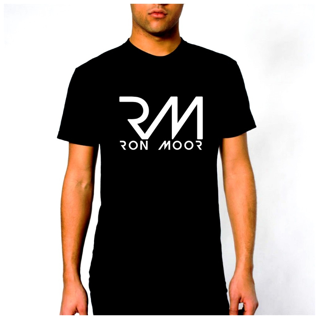 Ron Moor Male T-Shirt Black