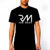 T-Shirt Noir Homme Ron Moor