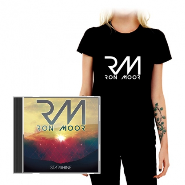 Pack T-Shirt Femme Ron Moor + Album CD Starshine